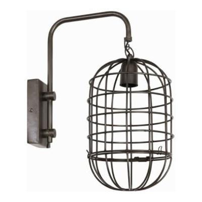 Light & Living - Brenda Vintage Tin Wall Lamp