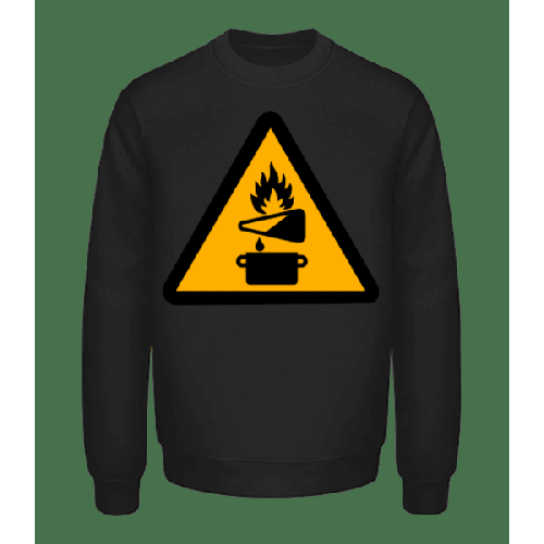 Achtung Brandgefahr - Unisex Pullover