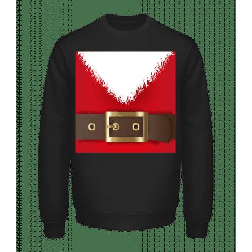 Weihnachtsmann Gürtel - Unisex Pullover