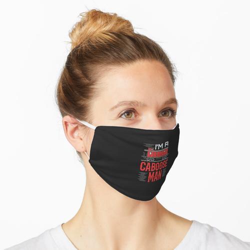 Modellbahn Ich bin ein Caboose Man Maske