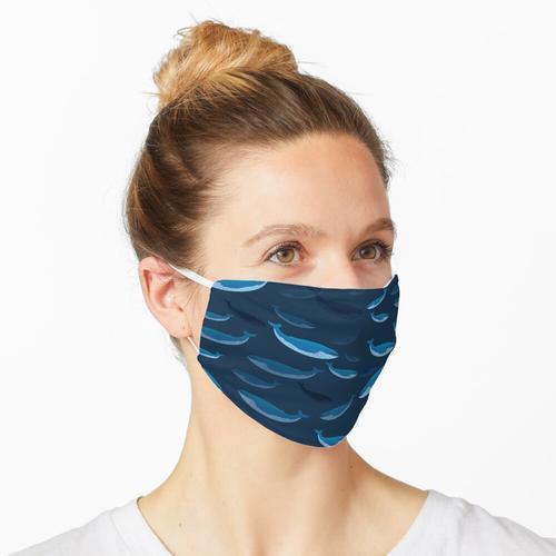 Blauwal 3D Maske
