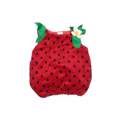 Koala Kids Costume: Red Print Accessories - Size 12 Month
