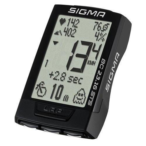 SIGMA BC 23.16 STS Fahrradtacho in black-white, Größe Einheitsgröße