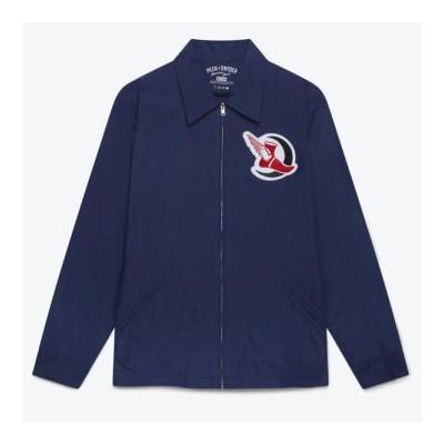 Peck & Snyder - Navy Crescent Athletics Running Club Coach Jacket - L / Navy