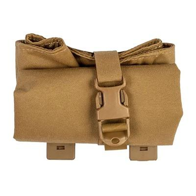 Grey Ghost Gear - Grey Ghost Gear Roll Up Dump Pouch - Roll Up Dump Pouch Laminate Coyote Brown