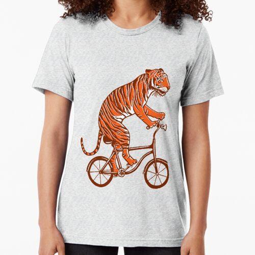 Tiger auf Fahrrad, Tiger auf Fahrrad Vintage T-Shirt