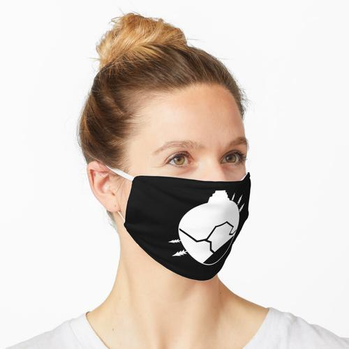 Holzherd Symbol Maske