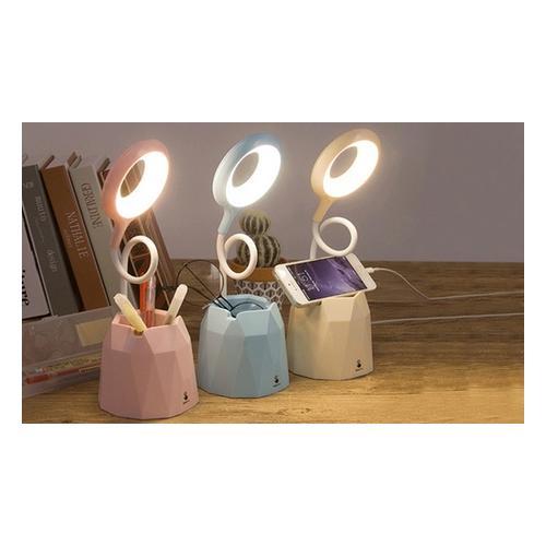 LED-Schreibtischlampe: Blau / 1