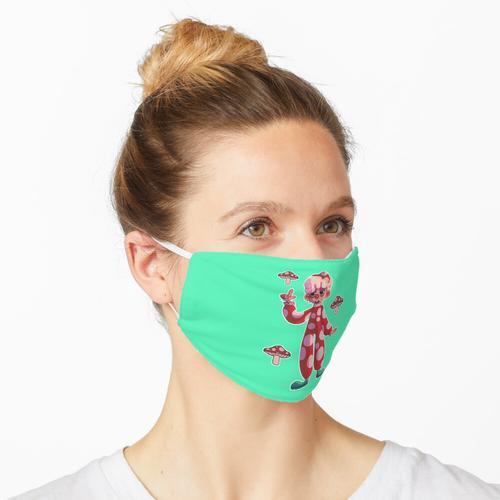 Pilzclown Maske