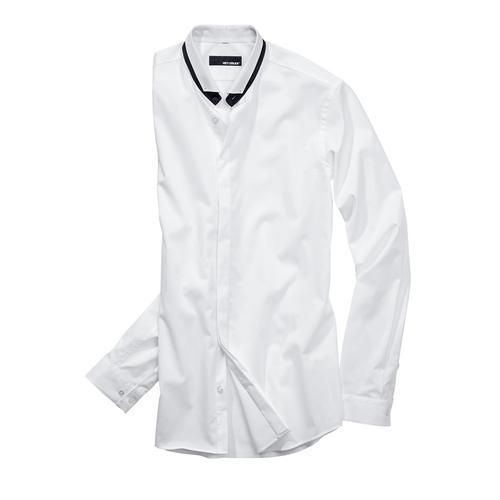 Mey & Edlich Herren Smoking-Hemd weiß 38, 39, 40, 41, 42, 43, 44, 45, 46