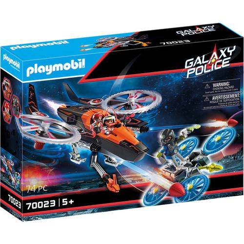 PLAYMOBIL® Galaxy Police 70023 Galaxy Pirates-Heli, bunt