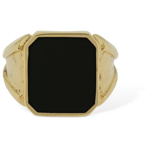 Bottega Veneta Eckiger Ring Mit Emaille
