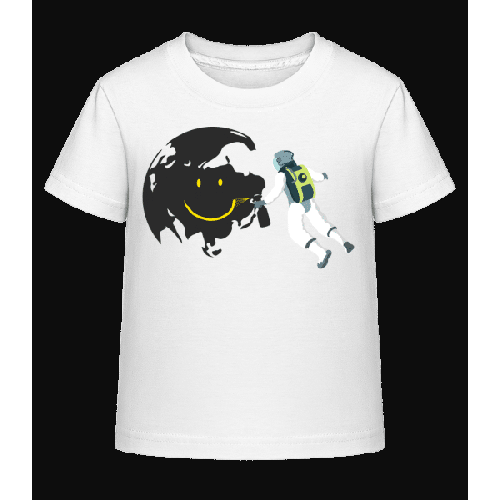 Lächelnder Mond - Kinder Shirtinator T-Shirt