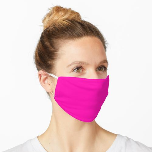 Fluoreszierendes Rosa Maske