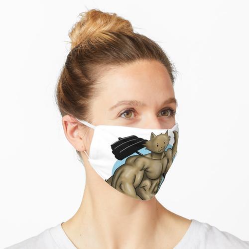 Bodybuilding Cat Maske