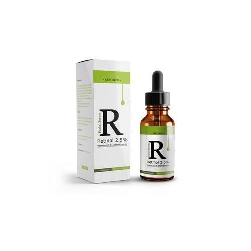 10 ml Gesichtsserum mit 2 5% Retinol und Vitamin E: 3