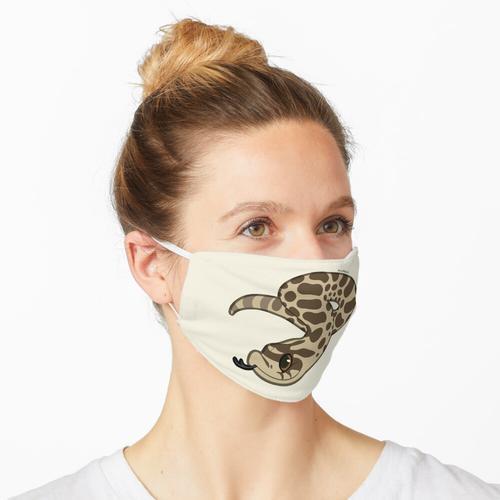 Kleine Hognose-Schlange Maske