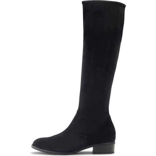 Peter Kaiser, Veloursleder-Stiefel Heta in schwarz, Stiefel für Damen Gr. 36