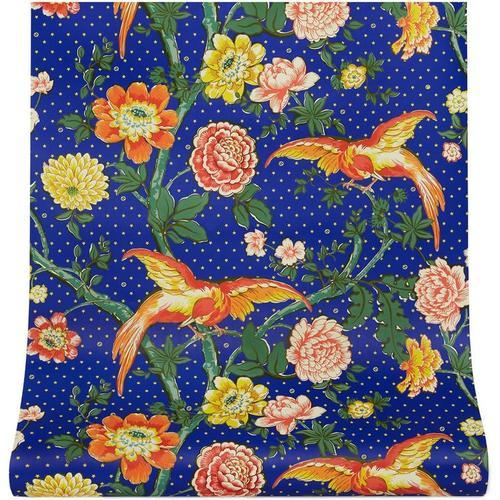Gucci Tapete mit Blumen-Print