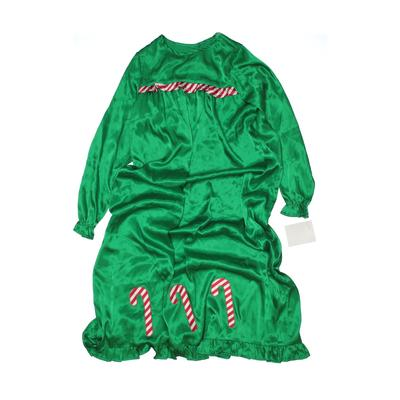 Assorted Brands Costume: Green Solid Accessories - Size 14