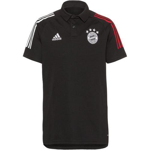 adidas FC Bayern Poloshirt Herren in black, Größe M