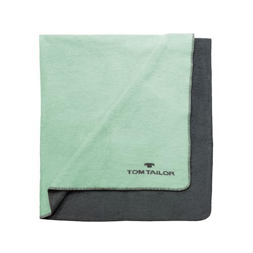 Doubleface Wohndecke Tom Tailor Mint