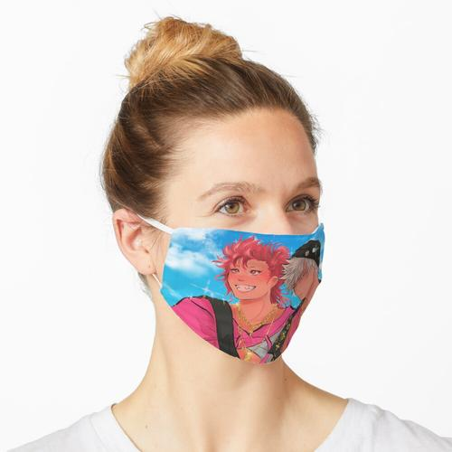 rosa Kiribaku Werbegeschenk Maske