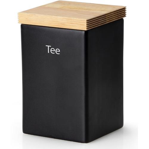Continenta Teedose, (1 tlg.), Teedose schwarz Küchenhelfer SOFORT LIEFERBARE Haushaltswaren