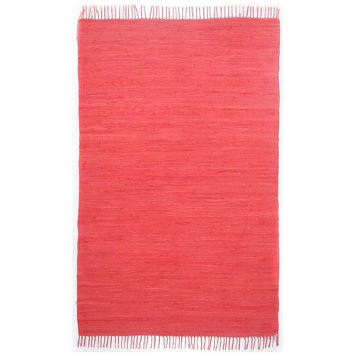 Handwebteppich Ulli Theko®die Markenteppiche Rot