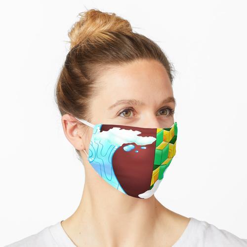 Wassersäule Maske