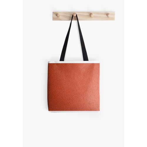 Orange Leder Tasche