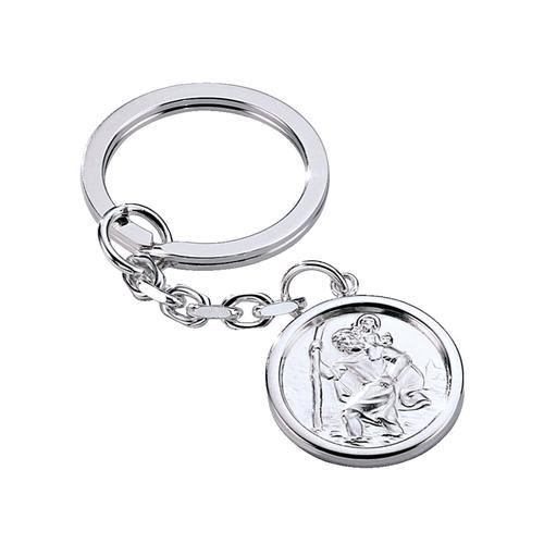 Schlüsselanhänger in Silber WENZ Weiß
