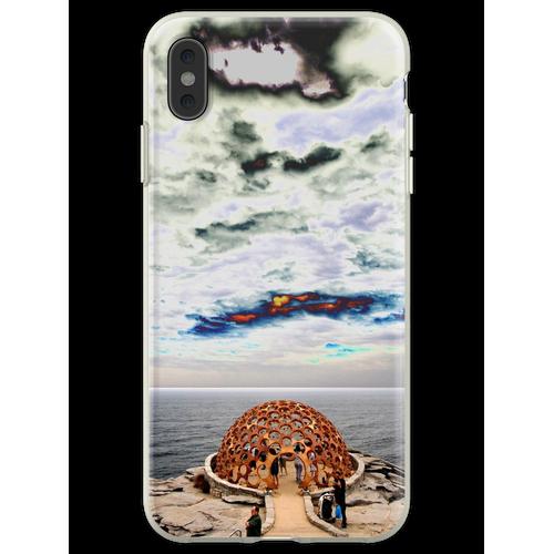 Hauben-Skulptur @ Skulpturen durch das Meer 2012 Flexible Hülle für iPhone XS Max