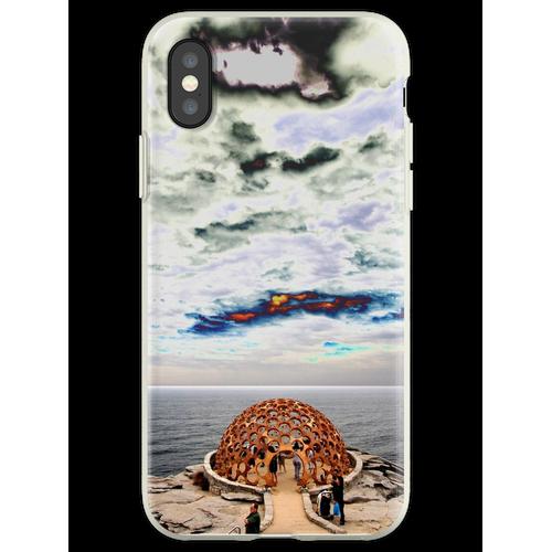 Hauben-Skulptur @ Skulpturen durch das Meer 2012 Flexible Hülle für iPhone XS