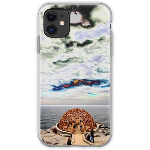 Hauben-Skulptur @ Skulpturen durch das Meer 2012 Flexible Hülle für iPhone 11