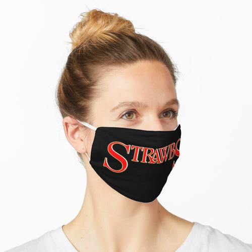 Strohhalme Maske