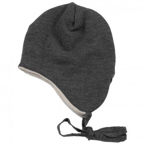 Reiff - Kid's Ohrenmütze Gr 46/48 schwarz