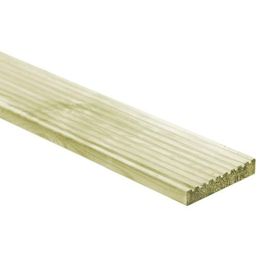 Terrassendielen 18 Stk. 150×14,5 cm Holz