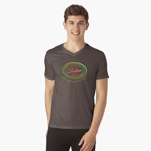 Wunderbare Dobro-Gitarren 1927 t-shirt:vneck