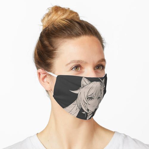 Japanischer Kaminari Maske