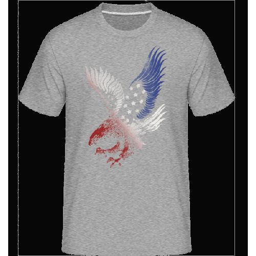 Amerikanischer Adler - Shirtinator Männer T-Shirt