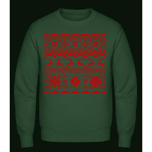 Weihnachtsmuster - Männer Pullover