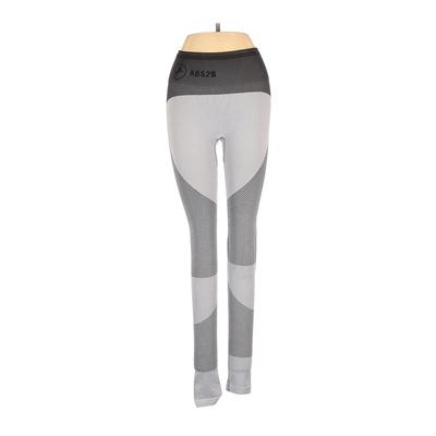 ABS2B Fitness Apparel Active Pants - Mid/Reg Rise: Gray Activewear - Size Small