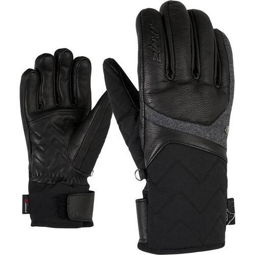 ZIENER Damen Handschuhe KRISTALL AS(R) AW, Größe 8 in black