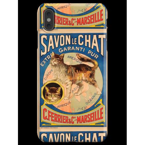 Savon Le Chat Die französische Seife der Marke Cat iPhone XS Max Handyhülle