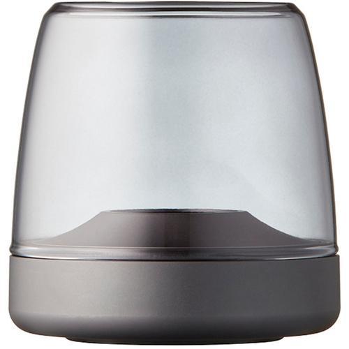 kooduu Windlicht Glow 10, Luxuswindlicht, aus Aluminium und Glas grau Kerzenhalter Kerzen Laternen Wohnaccessoires