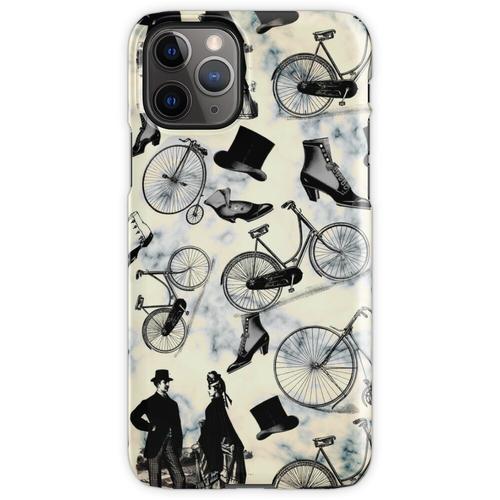 Viktorianische Fahrräder und Mode iPhone 11 Pro Handyhülle