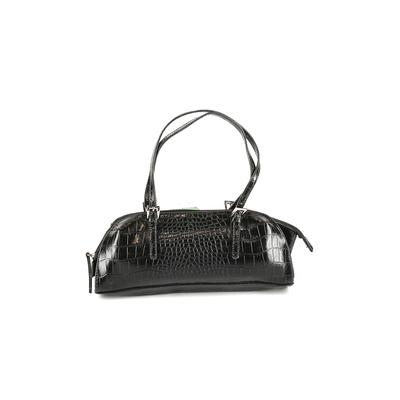 Bisou Bisou Shoulder Bag: Black Solid Bags