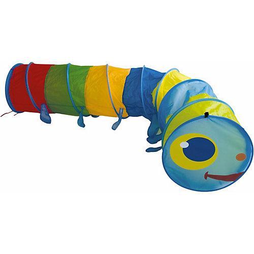 Kriechtunnel XXL Raupe 2,5 m Spieltunnel Kinder Agility Krabbeltunnel Spielzelt Spielzelte mehrfarbig