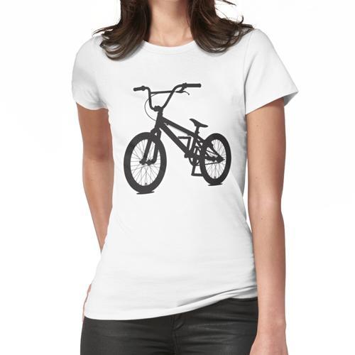 BMX BIKE. Offroad-Sportfahrrad. Stuntreiten. Frauen T-Shirt